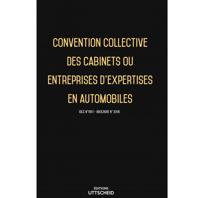 Convention collective des cabinets ou entreprises d'expertises en automobiles FEVRIER 2017 + Grille de Salaire