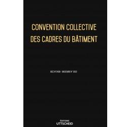 Convention collective nationale des cadres du bâtiment Avril 2018 + Grille de Salaire