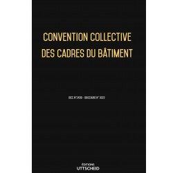Convention collective nationale des cadres du bâtiment Mars 2018 + Grille de Salaire