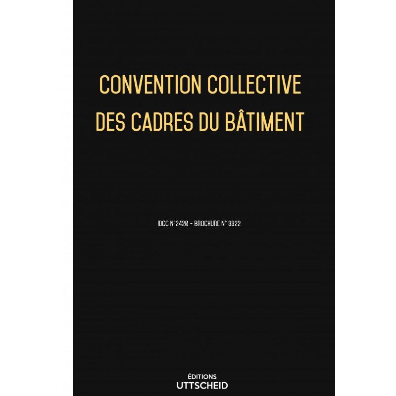 Convention collective des cadres du bâtiment FEVRIER 2017 + Grille de Salaire