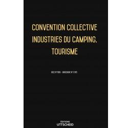 Convention collective Industries du camping, Tourisme Février 2018 + Grille de Salaire
