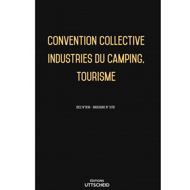 Convention collective Industries du camping, Tourisme FEVRIER 2017 + Grille de Salaire