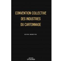 Convention collective des industries du cartonnage OCTOBRE 2017 + Grille de Salaire