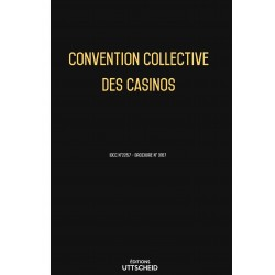 Convention collective des casinos OCTOBRE 2017 + Grille de Salaire