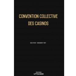 Convention collective des casinos Septembre 2018 + Grille de Salaire
