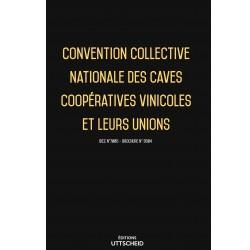 Convention collective nationale des caves coopératives vinicoles et leurs unions janvier 2018 + Grille de Salaire
