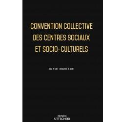 convention collective des centres sociaux et socio-culturels Avril 2018 + Grille de Salaire