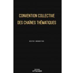 Convention collective des chaînes thématiques Avril 2018 + Grille de Salaire