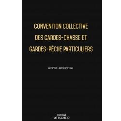 Convention collective des gardes-chasse et gardes-pêche particuliers Septembre 2018 + Grille de Salaire