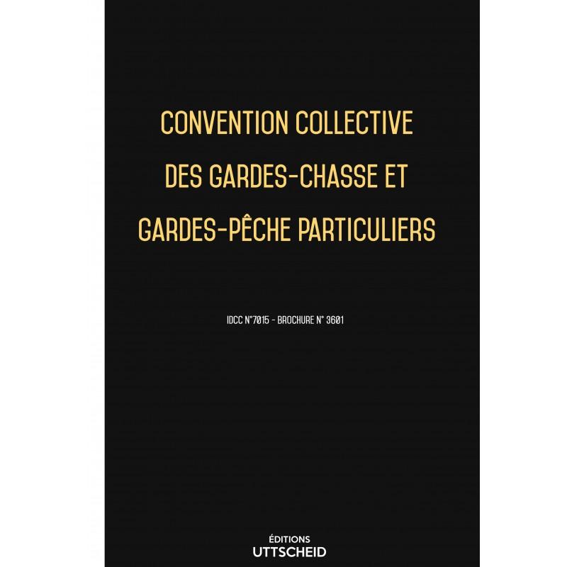 Convention collective des gardes-chasse et gardes-pêche particuliers FEVRIER 2017 + Grille de Salaire