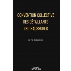 Convention collective des détaillants en chaussures Avril 2018 + Grille de Salaire