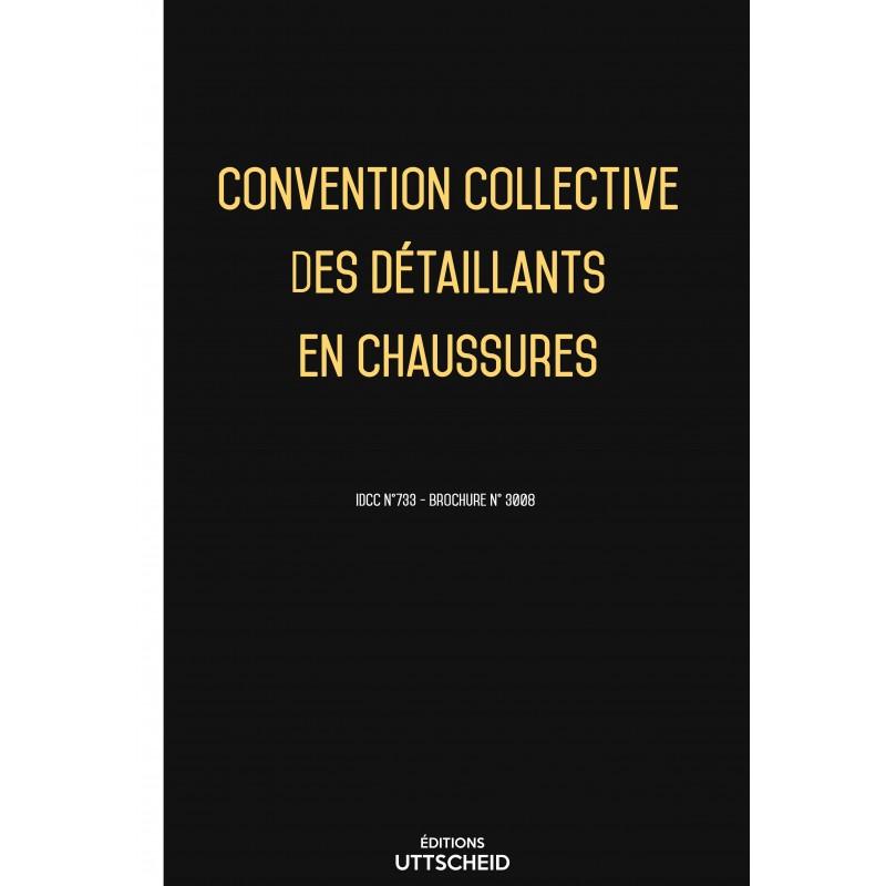 Convention collective des détaillants en chaussures FEVRIER 2017 + Grille de Salaire