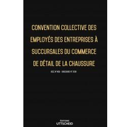 Convention collective du commerce succursaliste de la chaussure décembre 2017 + Grille de Salaire
