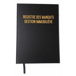 Registre des mandats - Gestion immobilière