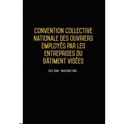 Convention collective nationale Bâtiment - 10 salariés décembre 2017 + Grille de Salaire