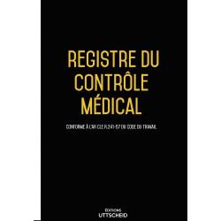 Registre du contrôle médical