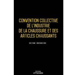 Convention collective de l'industrie de la chaussure et des articles chaussants Avril 2018 + Grille de Salaire