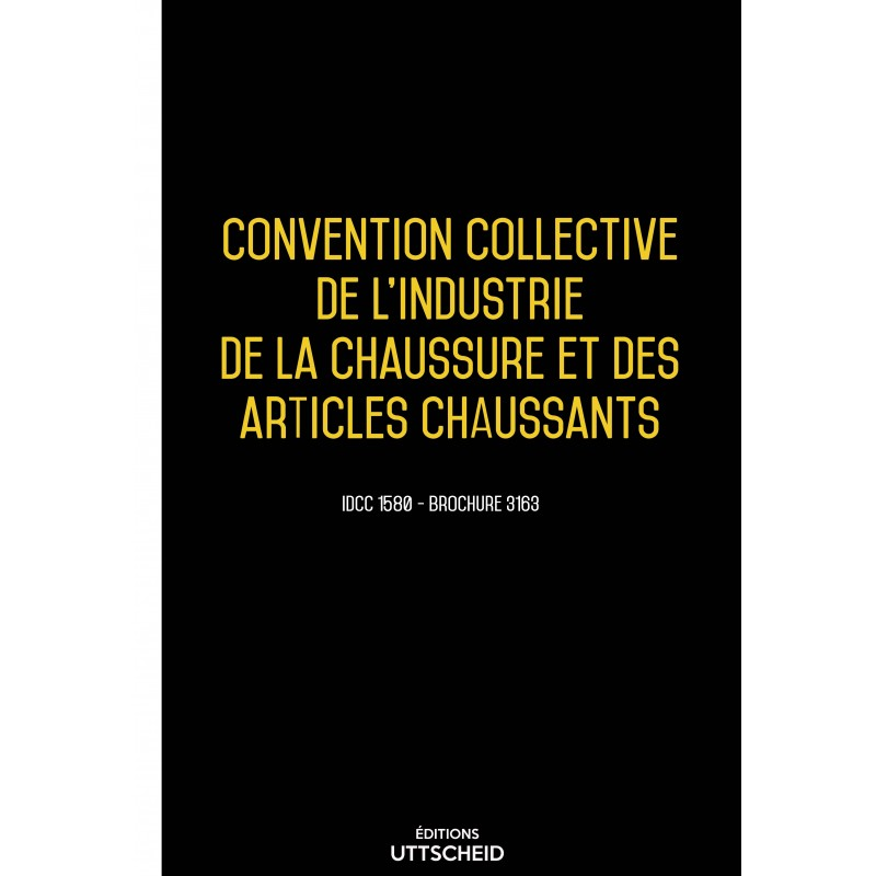 Convention collective du commerce succursaliste de la chaussure AVRIL 2017 + Grille de Salaire