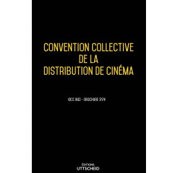 Convention collective de la distribution de cinéma Avril 2018 + Grille de Salaire