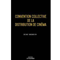 Convention collective de la distribution de cinéma Mars 2018 + Grille de Salaire