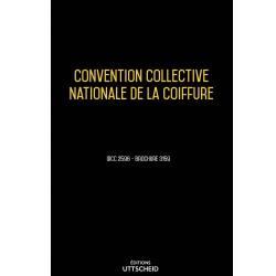 Convention collective nationale de la coiffure Mars 2018 + Grille de Salaire
