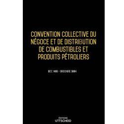 Convention collective du négoce et de distribution de combustibles et produits pétroliers OCTOBRE 2017 + Grille de Salaire