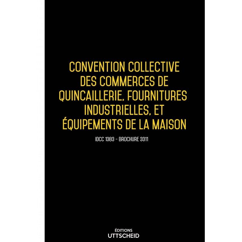 Convention collective du commerce de gros en bonneterie, lingerie, mercerie, chaussures AVRIL 2017 + Grille de Salaire