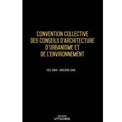 Convention collective des conseils d'architecture, d'urbanisme et de l'environnement Mars 2018 + Grille de Salaire