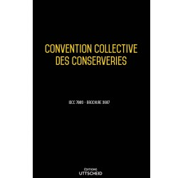 Convention collective des conserveries Avril 2018 + Grille de Salaire