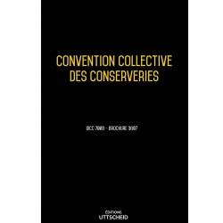 Convention collective des conserveries OCTOBRE 2017 + Grille de Salaire