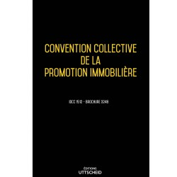 Convention collective de la promotion immobilière Avril 2018 + Grille de Salaire