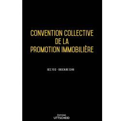 Convention collective de la promotion immobilière décembre 2017 + Grille de Salaire