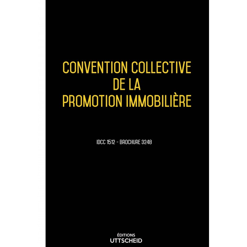Convention collective de la promotion immobilière AVRIL 2017 + Grille de Salaire