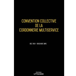 Convention collective de la cordonnerie multiservice Avril 2018 + Grille de Salaire