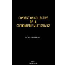 Convention collective de la cordonnerie multiservice Mars 2018 + Grille de Salaire