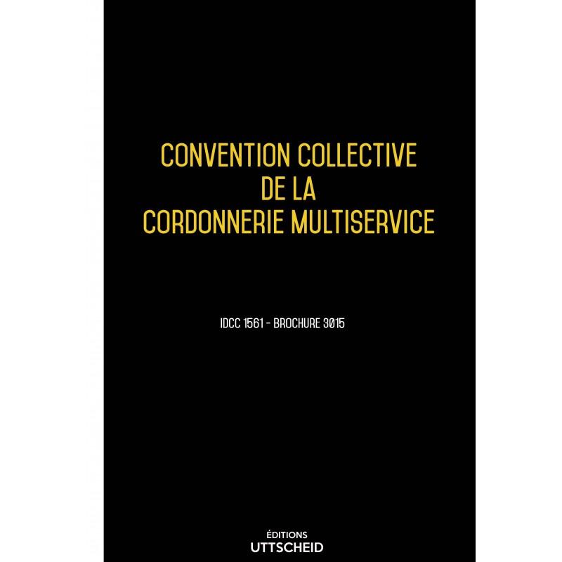 Convention collective de la cordonnerie multiservice AVRIL 2017 + Grille de Salaire