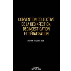 Convention collective de la désinfection, désinsectisation et dératisation décembre 2017 + Grille de Salaire