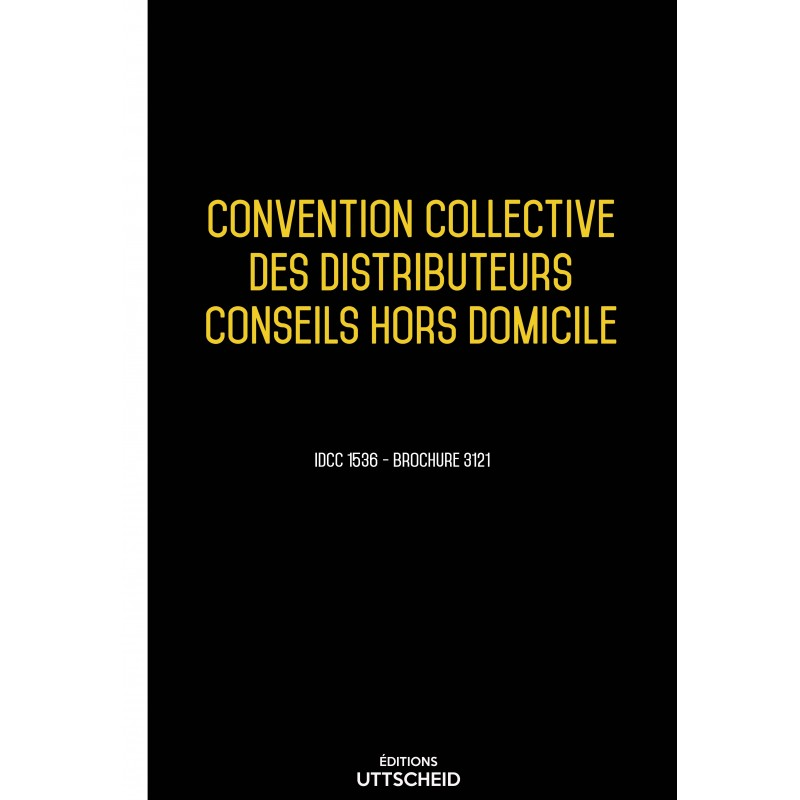 convention collective des distributeurs conseils hors. Black Bedroom Furniture Sets. Home Design Ideas