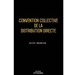Convention collective de la distribution directe Février 2018 + Grille de Salaire