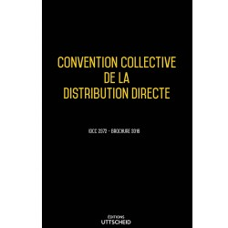 Convention collective de la distribution directe Septembre 2018 + Grille de Salaire