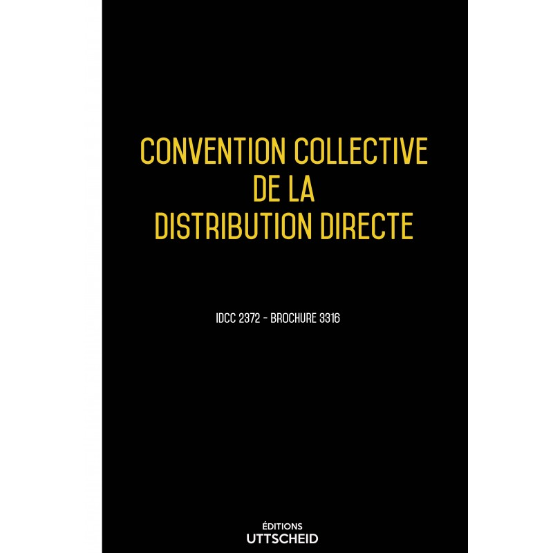 convention collective de la distribution directe juin 2017. Black Bedroom Furniture Sets. Home Design Ideas