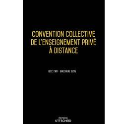 Convention collective de l'enseignement privé à distance janvier 2018 + Grille de Salaire