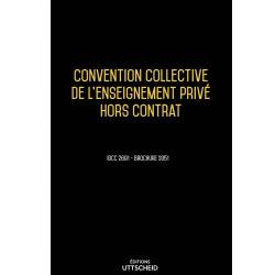 Convention collective de l'enseignement privé hors contrat Avril 2018 + Grille de Salaire