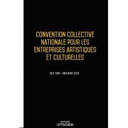 Convention Collective Nationale Entreprises Artistiques et Culturelles janvier 2018 + Grille de salaire