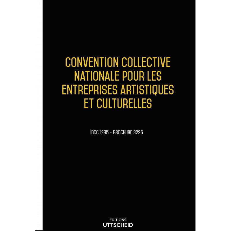 Convention Collective Nationale Entreprises Artistiques et Culturelles  + Grille de salaire