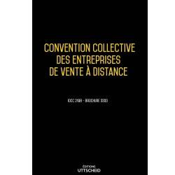 Convention collective des entreprises de vente à distance janvier 2018 + Grille de Salaire