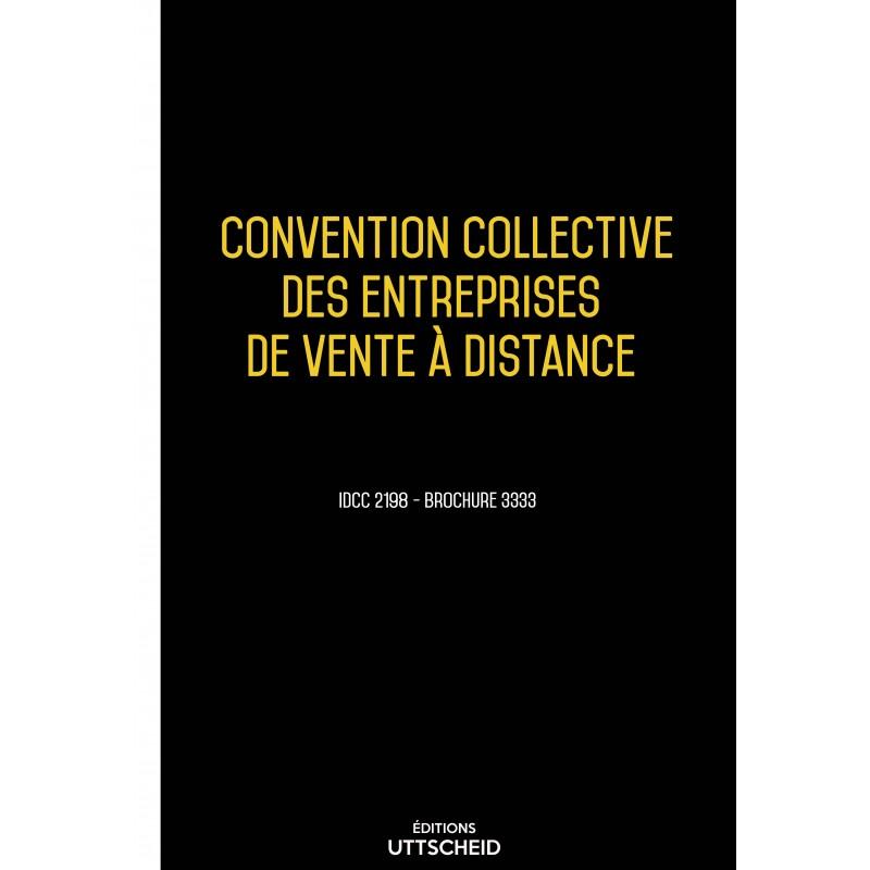 Convention collective des entreprises de vente à distance AVRIL 2017 + Grille de Salaire