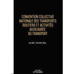 Convention collective nationale Transports routiers janvier 2018 + Grille de Salaire
