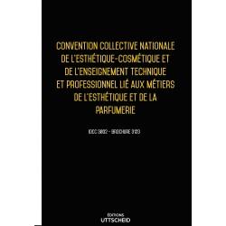 Convention collective de l'esthétique-cosmétique et de la parfumerie Avril 2018 + Grille salaire