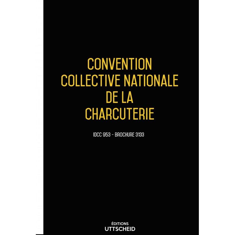 Convention collective nationale charcuterie + Grille de Salaire